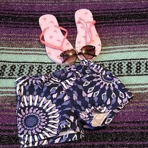 Gap Kids pattern shorts